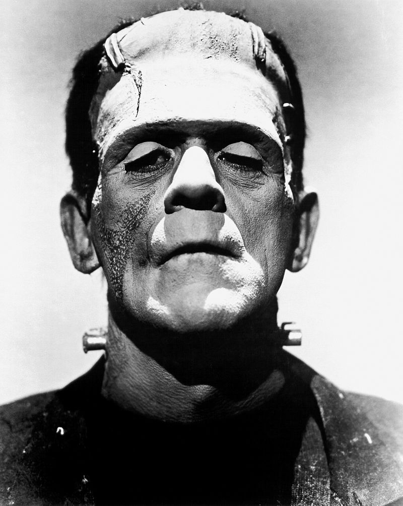 Universal Studios Promotional Shot of Boris Karloff's Frankenstein Monster - Wikipedia Photo