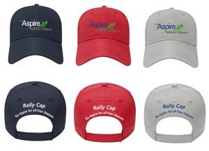 Aspire Landscape Management Software Rally Caps