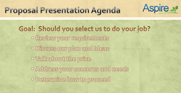 Kevin's Proposal Presentation