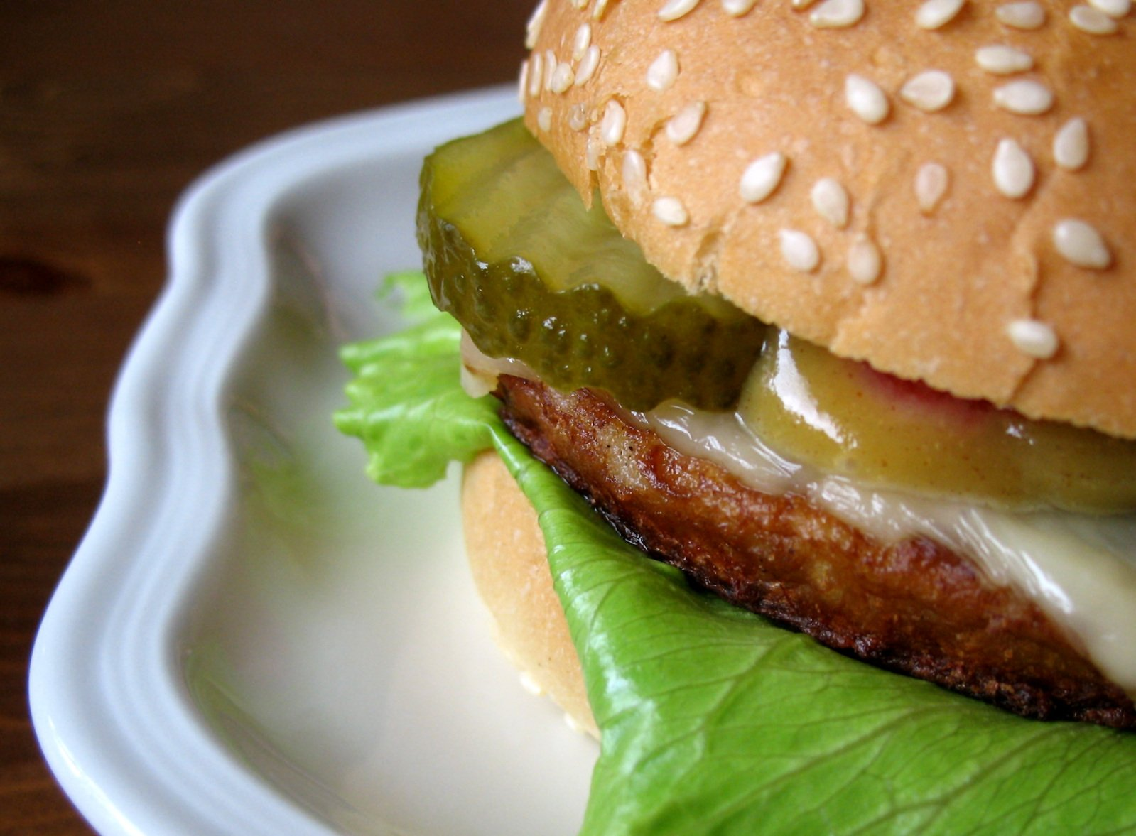 """""""...Two sear-sizzled 100% real beef patties and special sauce sandwiched between a sesame seed bun."""""""